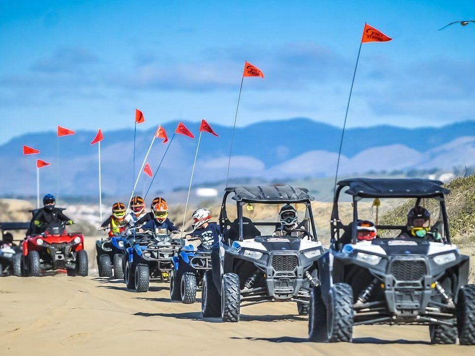 ATVs and UTVs at Oceano Dunes