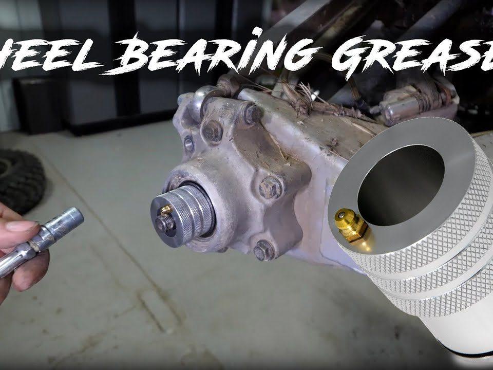 greasing Polaris wheel bearings