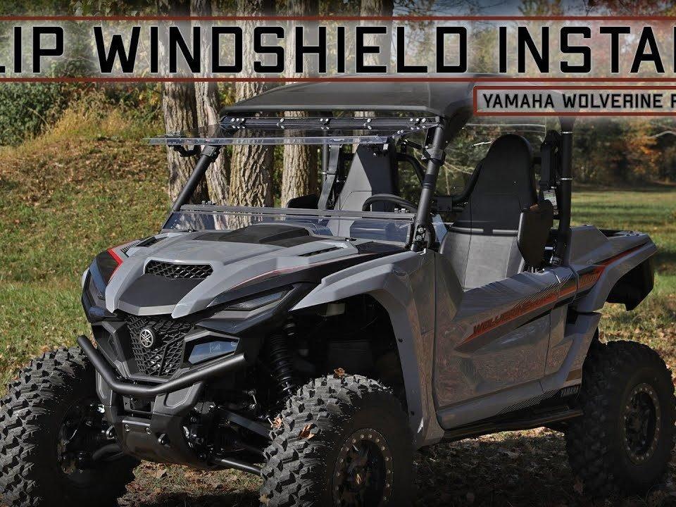Yamaha RMAX 1000 Flip Windshield from SuperATV