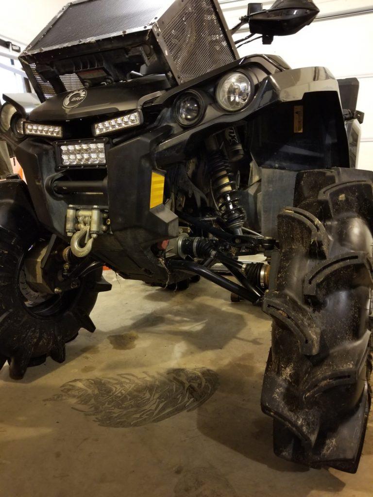 Customer image of Assassinator Tires on a quad