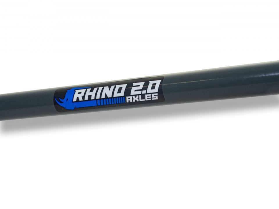 Rhino 2.0 Axle uninstalled
