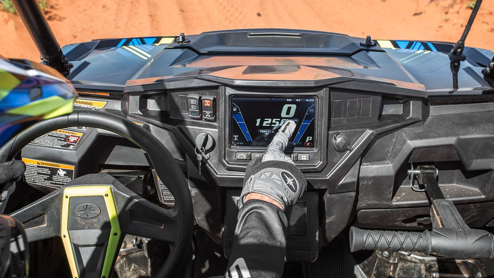 Ride Command, Polaris' built-in navigation software for select UTVs