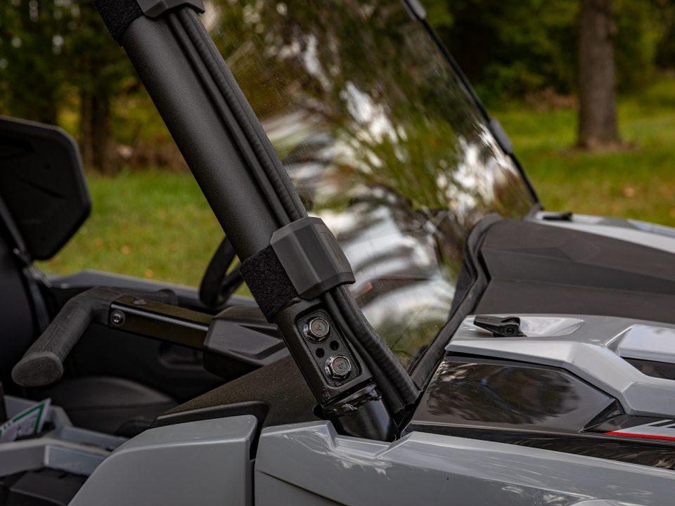 full windshield on Yamaha Wolverine RMAX