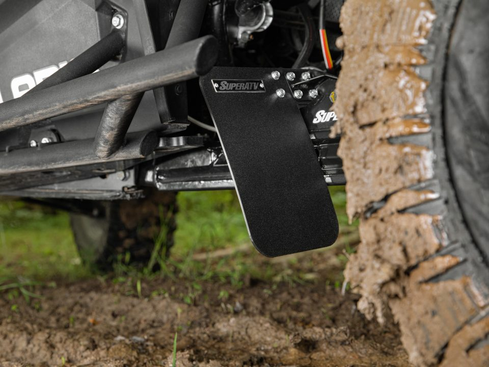 Polaris RZR XP Turbo Mud Flaps from SuperATV
