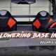 Two seats in a Polaris General XP 1000 with seat lowering bases installed