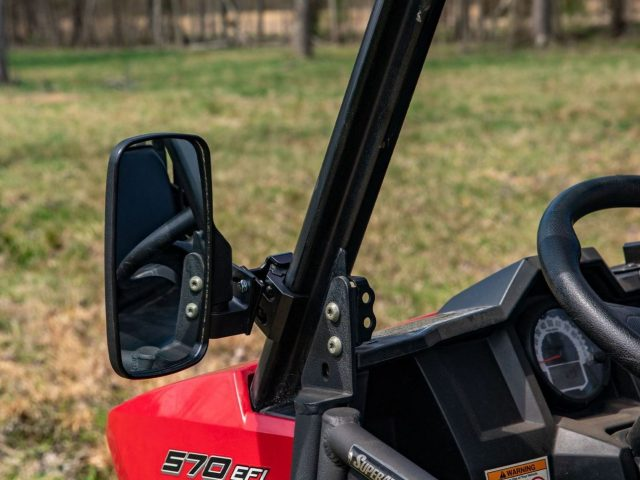 How to Install Side View Mirrors on a Can-Am Commander XT 1000