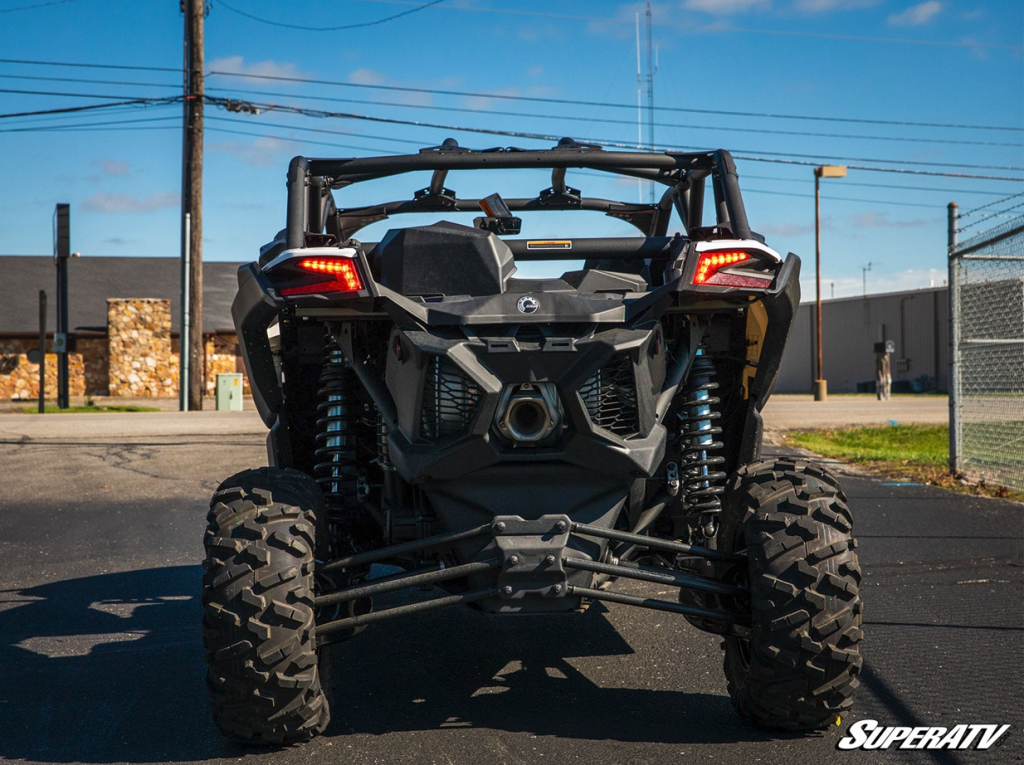 Rear view of a Can-Am Maverick X3