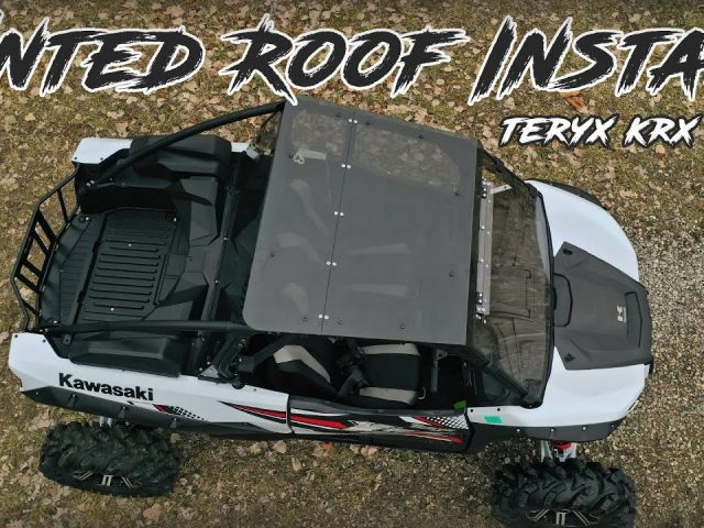 How to Install a Kawasaki Teryx KRX 1000 Tinted Roof