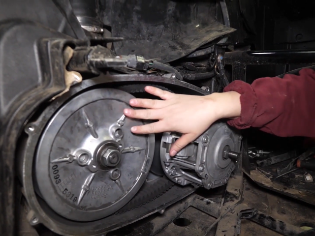 How to Change, Replace, and Inspect the Drive Belt on a Kawasaki Teryx