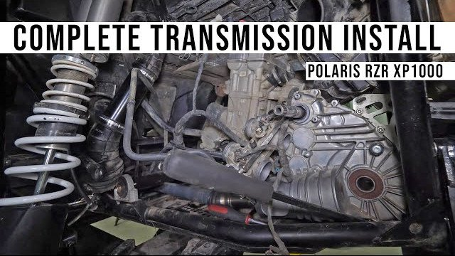 How to Install a Transmission on a Polaris RZR XP 1000