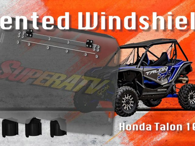How To Install a Vented Windshield on a Honda Talon 1000