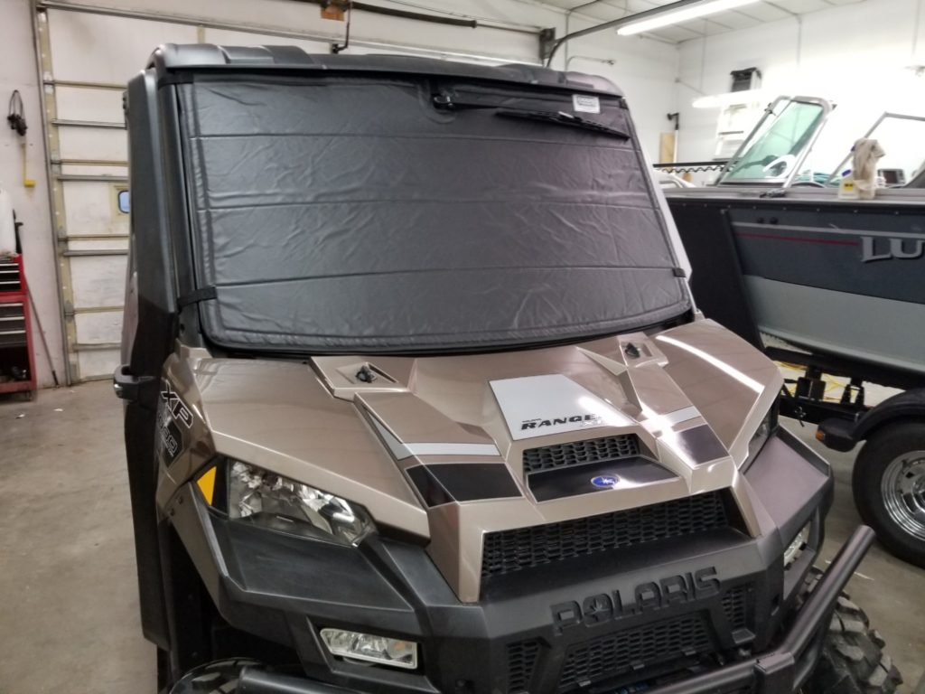 Ranger in garage