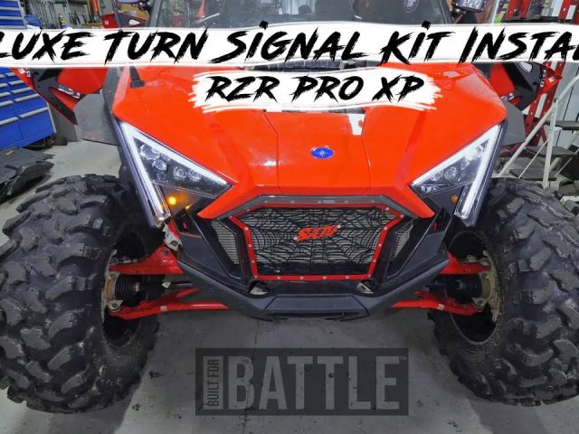 How to Install a Deluxe Turn Signal Kit on a Polaris RZR PRO XP