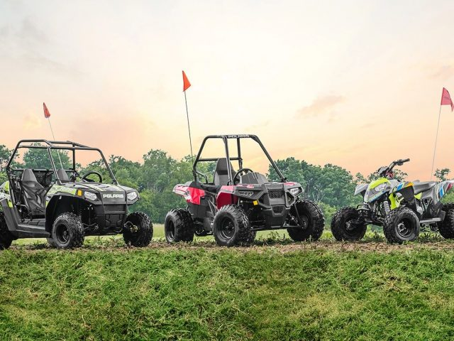 Starting Them Young: UTVs and ATVs for Kids
