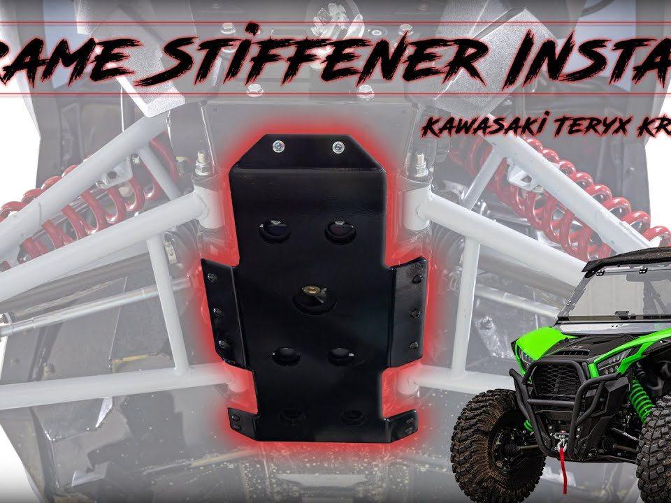 SuperATV Frame Stiffener on a Kawasaki Teryx KRX 1000